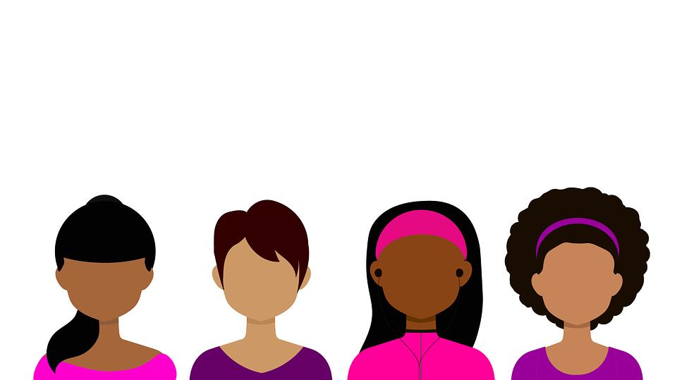 アバター, 女性, 女の子, 顔, 肖像画, クライアント, お客さま, アイコン, 人, ピンク