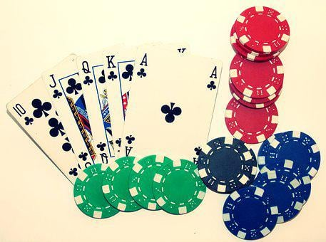Poker, Casino, Royal Flush, Card Game