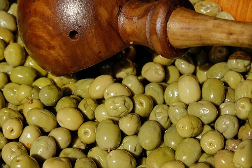 Olives, Green, Green Olives, Drupes, Oil