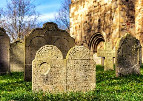 Cemetery, Tombstone, Grave, Harmony