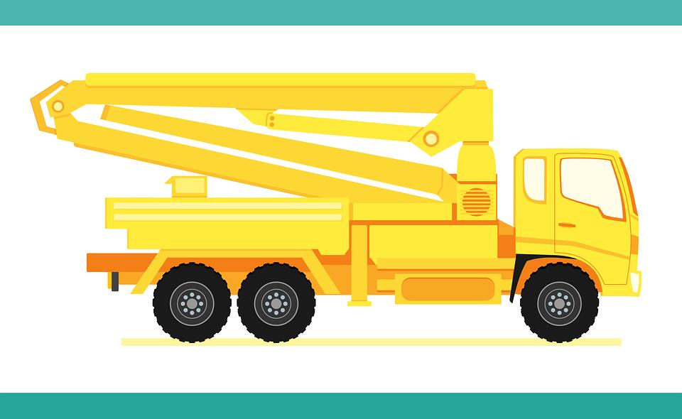 Truck Concrete Pump Heavy - Free vector graphic on Pixabay