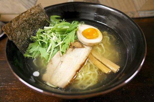 和食, 日本食, ラーメン, レストラン, 塩ラーメン, 濱塩らあめん, 料理