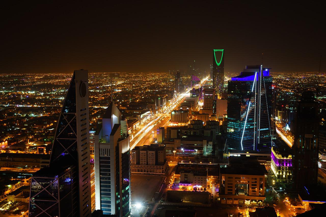 Riyadh, Saudi Arabia, City Night