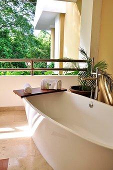 Jacuzzi, Hotel, Baño, Relajación