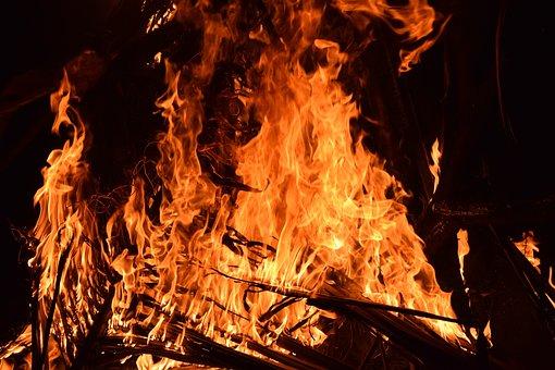 Fire, Heat, Bonfire, Energy, Yellow