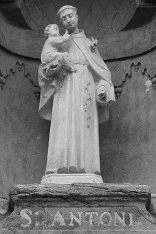 Święty Antoni, Statua, Święty, Katolicki