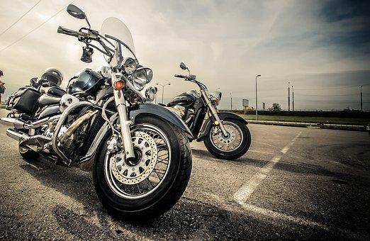 オートバイ, バイク, トランスポート, 夏, 重いバイク, 家賃