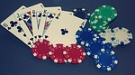 poker, royal flush, card game