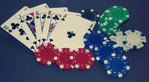 Poker, Royal Flush, Card Game, Win