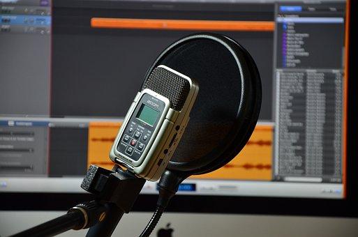 Microfone, Áudio, Gravação, Micro