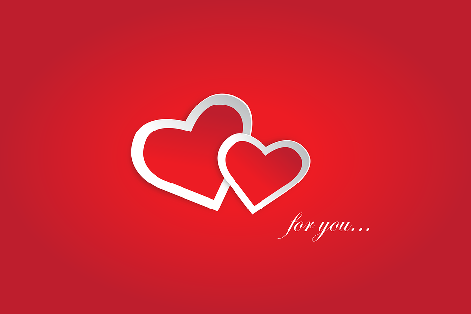 love you red valentine free vector graphic on pixabay