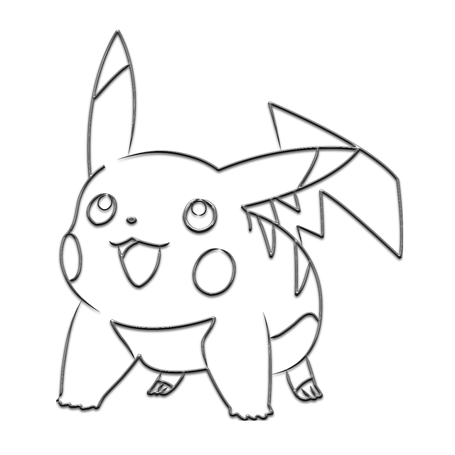 metal pikachu pokemon  u00b7 free image on pixabay