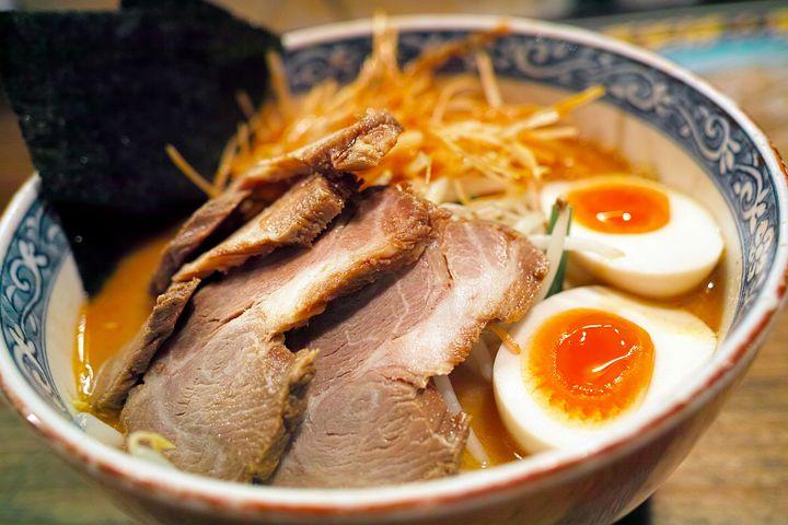 拉麺, 日本食, 料理, ローストポーク, 味噌ラーメン, チャーシューラーメン