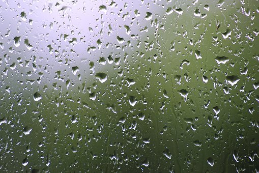 Rain, Glass, Drip, Raindrop, Wet, Window