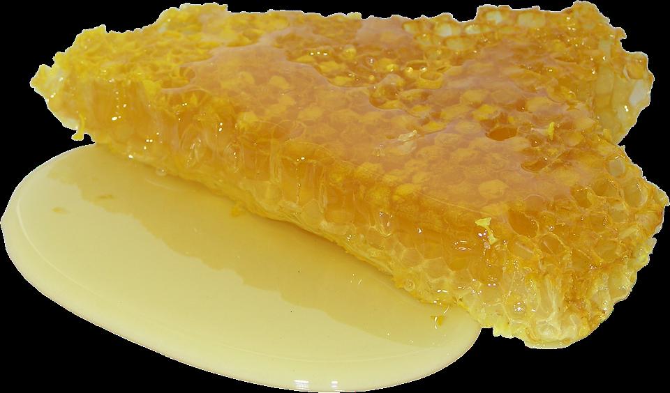 Honig, Wabe, Sweet, Verteilungseffekte, Zucker, Scheibe