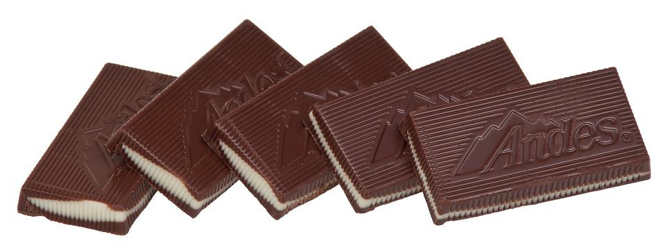 Mints, Chocolate, Andes, Candy, Sweet, Sugar, Unhealthy