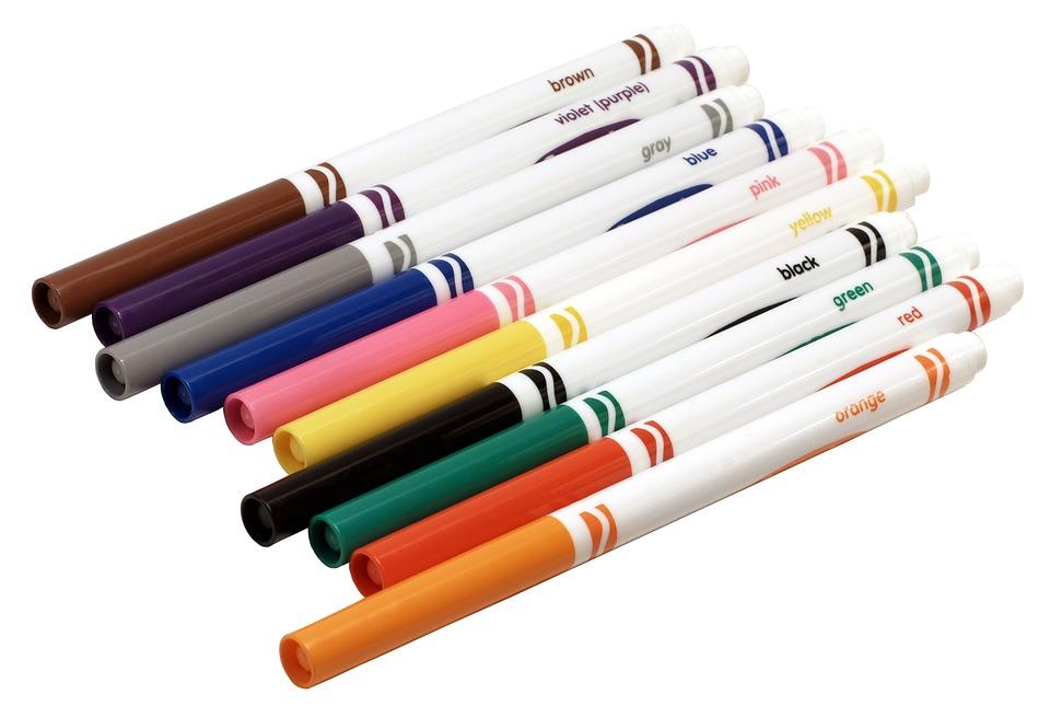 Rotuladores Colores Crayola · Foto gratis en Pixabay
