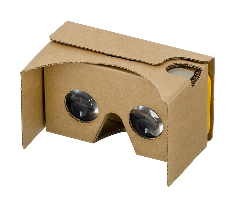 Google, Papier Carton, 3D, Vr, Réalité Virtuelle