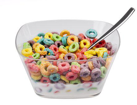 Food Eat Diet Froot Loops Cereal Bowl Cere