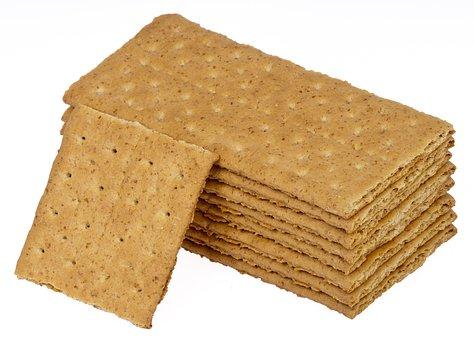 Food, Eat, Diet, Graham, Cracker, Stack