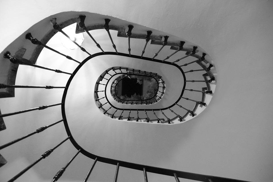 escalera caracol stairs espiral