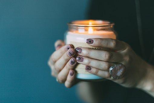 Light, Candle, Girl, Female, Hands