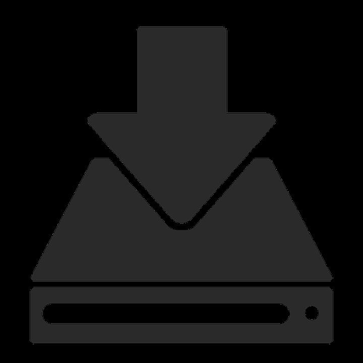 Télécharger, Icône