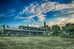 derelict, building, landscape
