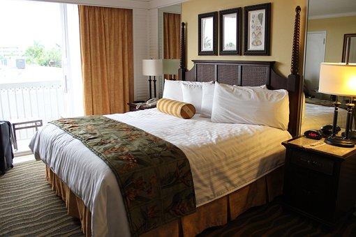 Hotelroom, Guestroom, Florida, Hotel