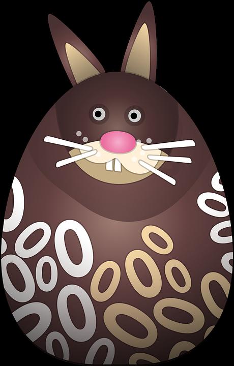 Free vector graphic: Chocolate Bunny, Pääsiäspupu - Free Image on ...