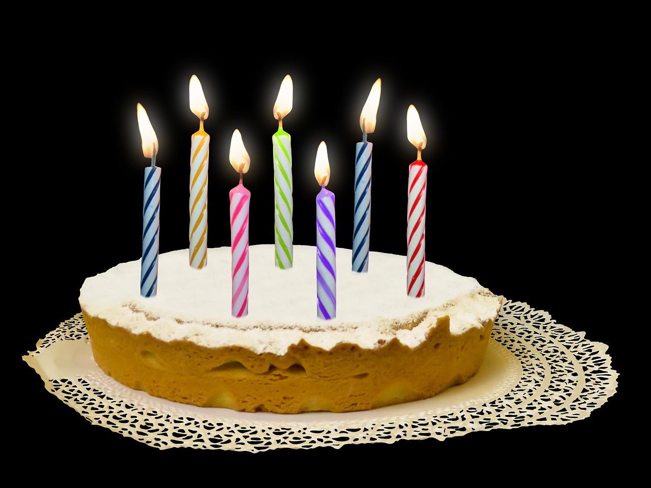 Картинки торт с свечами