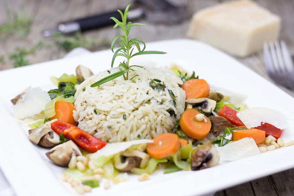 Le Riz, Légumes, Herbes, Végétarien, Carotte, Rosemary