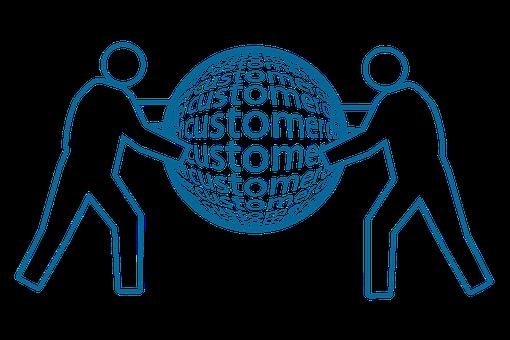 Customer support online