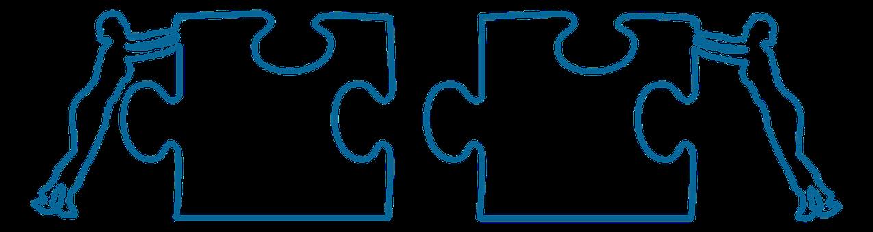 Zakelijke Wereld, Samenwerking, Puzzel