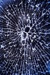 broken glass, shattered, glass
