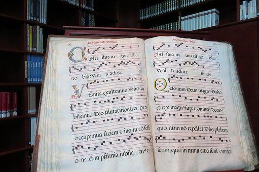 Latina, Libro, Caligráficos, Por Escrito