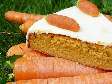 Pastel zanahoria edulcorantes