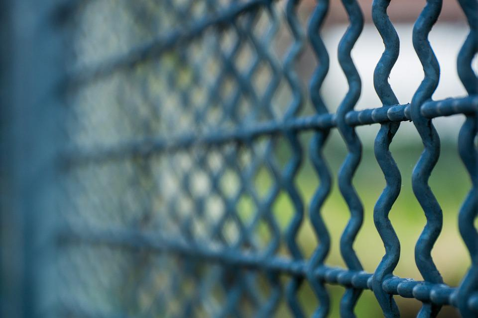 grid fence imprisoned behind free photo on pixabay