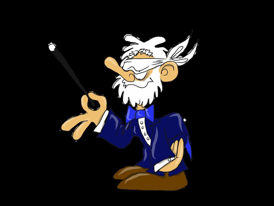 Aveugle Magicien Dessin Image Gratuite Sur Pixabay