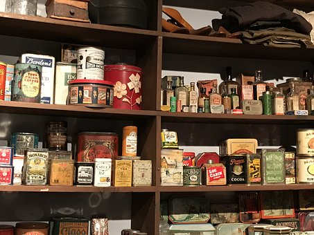 ストア, 棚, 小売, ショップ, 市場, 商品, 食品, 製品, パッケージ