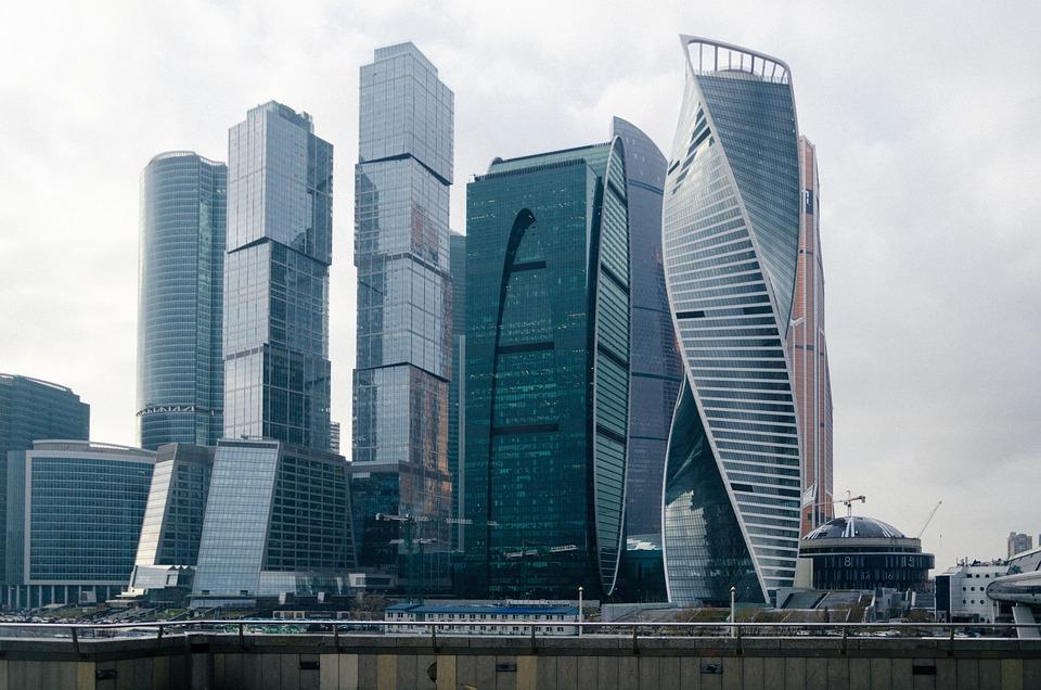 莫斯科市, 莫斯科, 俄罗斯, 城市, 摩天大楼, 塔, 建造, 办公中心, 商业中心, Bisiness中心