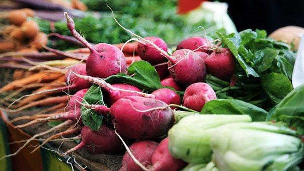 野菜, 大根, 緑の党, 健康, ダイエット, ウェルネス, ウェルビーイング