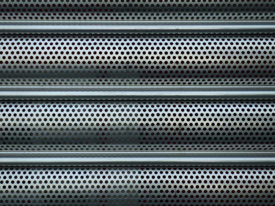 Sheet Holes Roller Shutter Free Photo On Pixabay