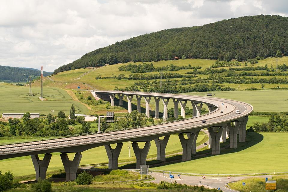 Snelweg, Verkeer, Landschap, Infrastructuur, Straten