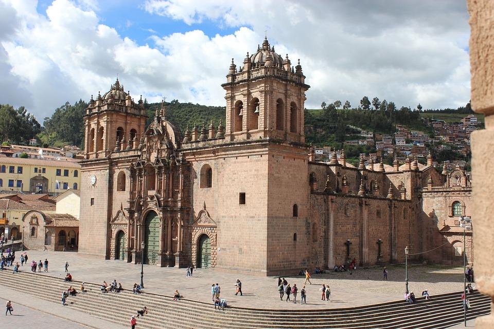 Peru, Cusco, Peruana, Arquitetura, Igreja, Viagens