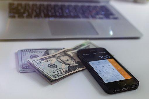 Money, Bank, Shopping, Calculator
