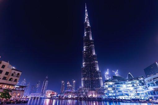 Burj Khalifa, Emirates, Dubai, Uae
