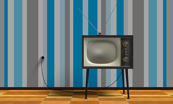 Tv 70S 60S 1960S 1970S Vintage Television