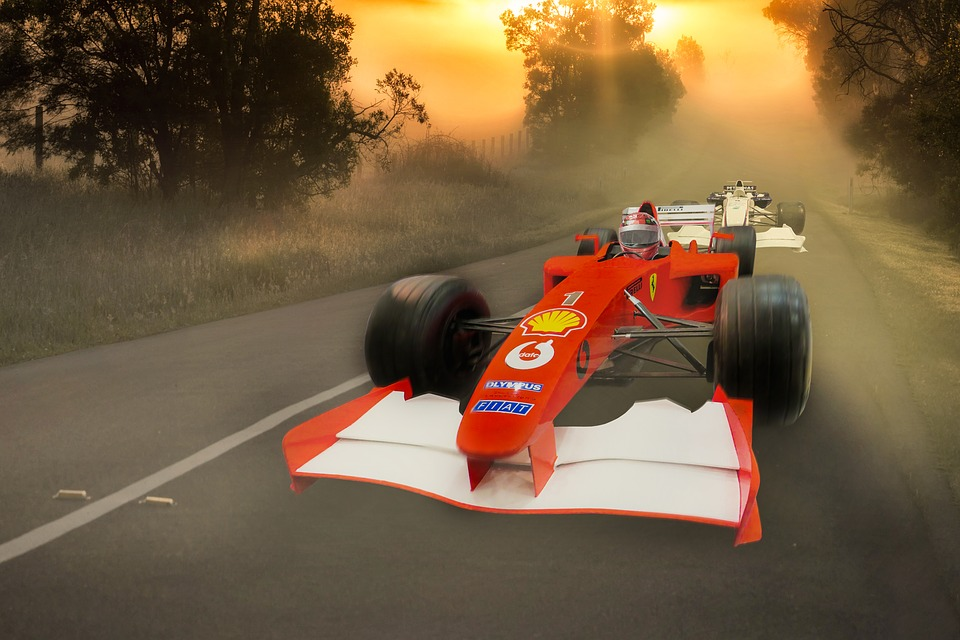 Sport Car Racing Formula 1 Racing Racing Car Fast