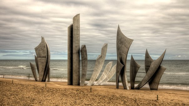 Omaha Beach, Monument Des Braves